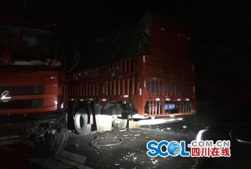 厦蓉高速发生多车追尾 假日行车需注意安全